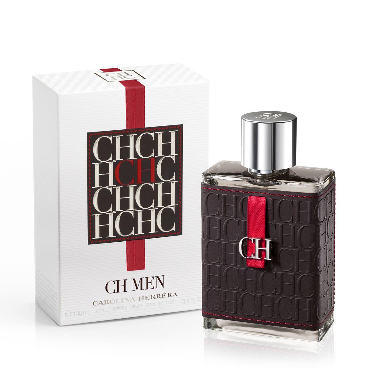 Perfume Masculino Ch Hc Men Carolina Herrera Eau de Toilette 100ml - Evas  Perfumaria a1d3d79c0a