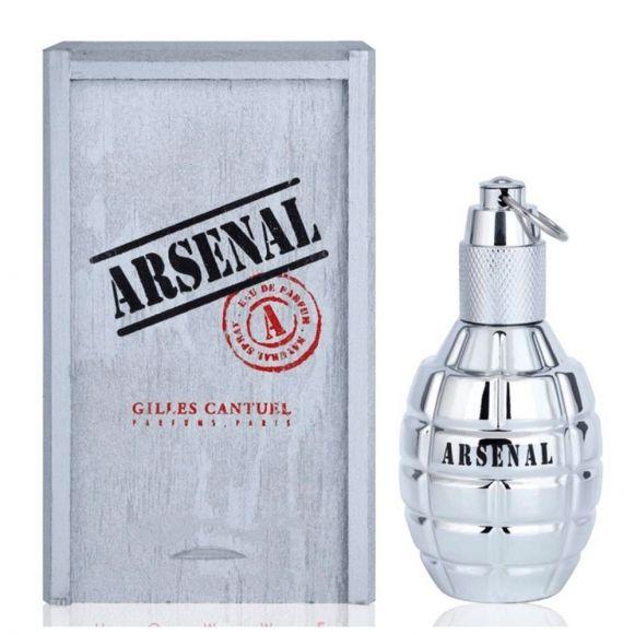 Perfume Masculino 100ml Arsenal Platinium Eau de Parfum