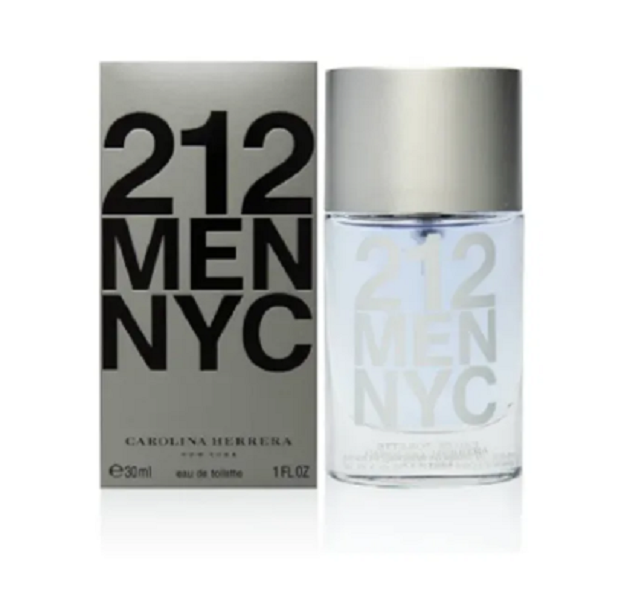 Perfume Masculino 212 Men Nyc Eau de Toilette 30ml