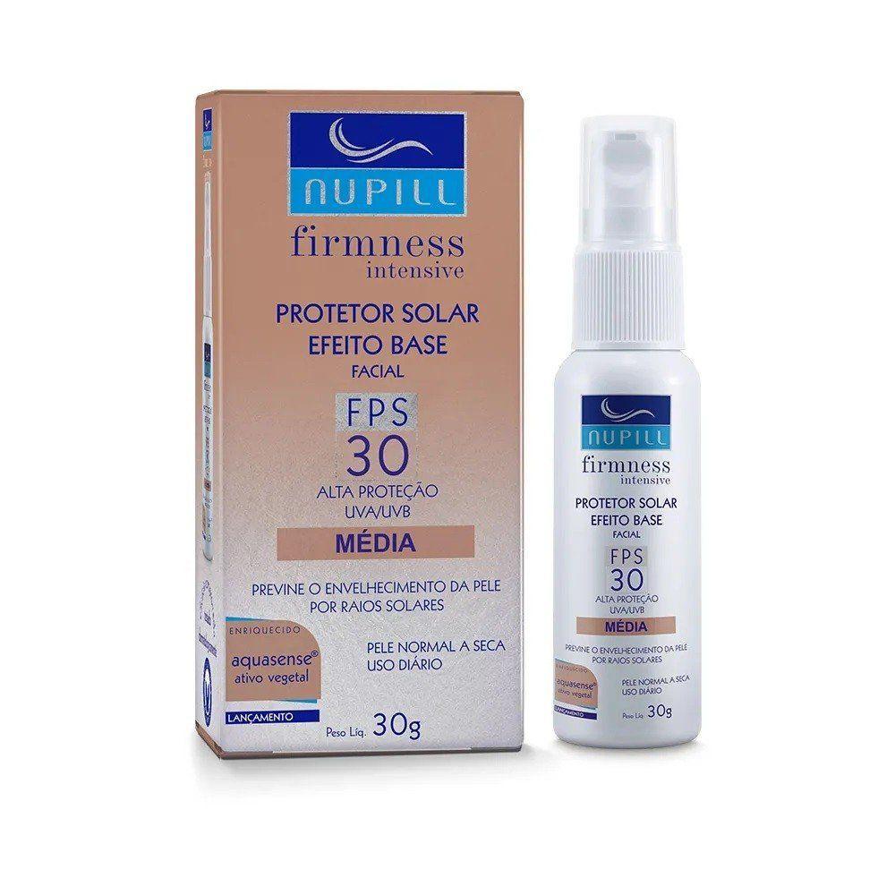 Protetor Solar Efeito Base Média FPS 30 Firmness Intensive 30g - Nupill