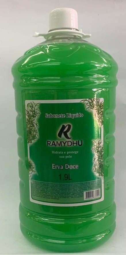 Sabonete Liquido Ramudhu Erva Doce Perolado 1,9 L