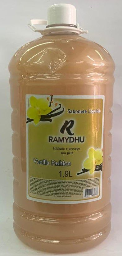 Sabonete Liquido Ramydhu Vanilla Fashion 1,9 L