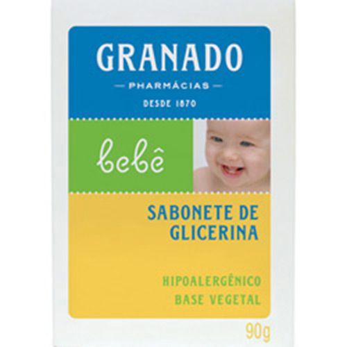 Sabonete Tradicional em Barra de Glicerina p/ Bebês 90g - Granado