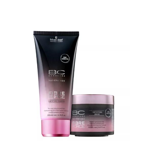 Schwarzkopf BC Bonacure Fibre Force Reconstrução Essencial Shampoo+Mascara