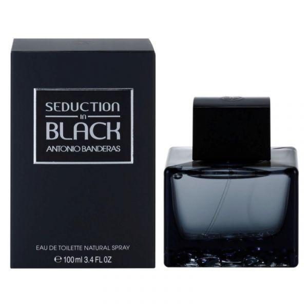 Seduction in Black For Men Antonio Banderas Perfume Masculino 100ml
