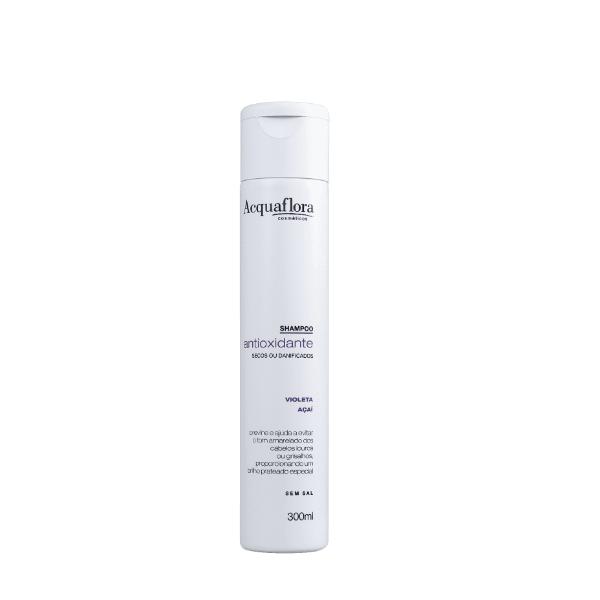Shampoo Acquaflora Antioxidante Secos Ressecados 300ml