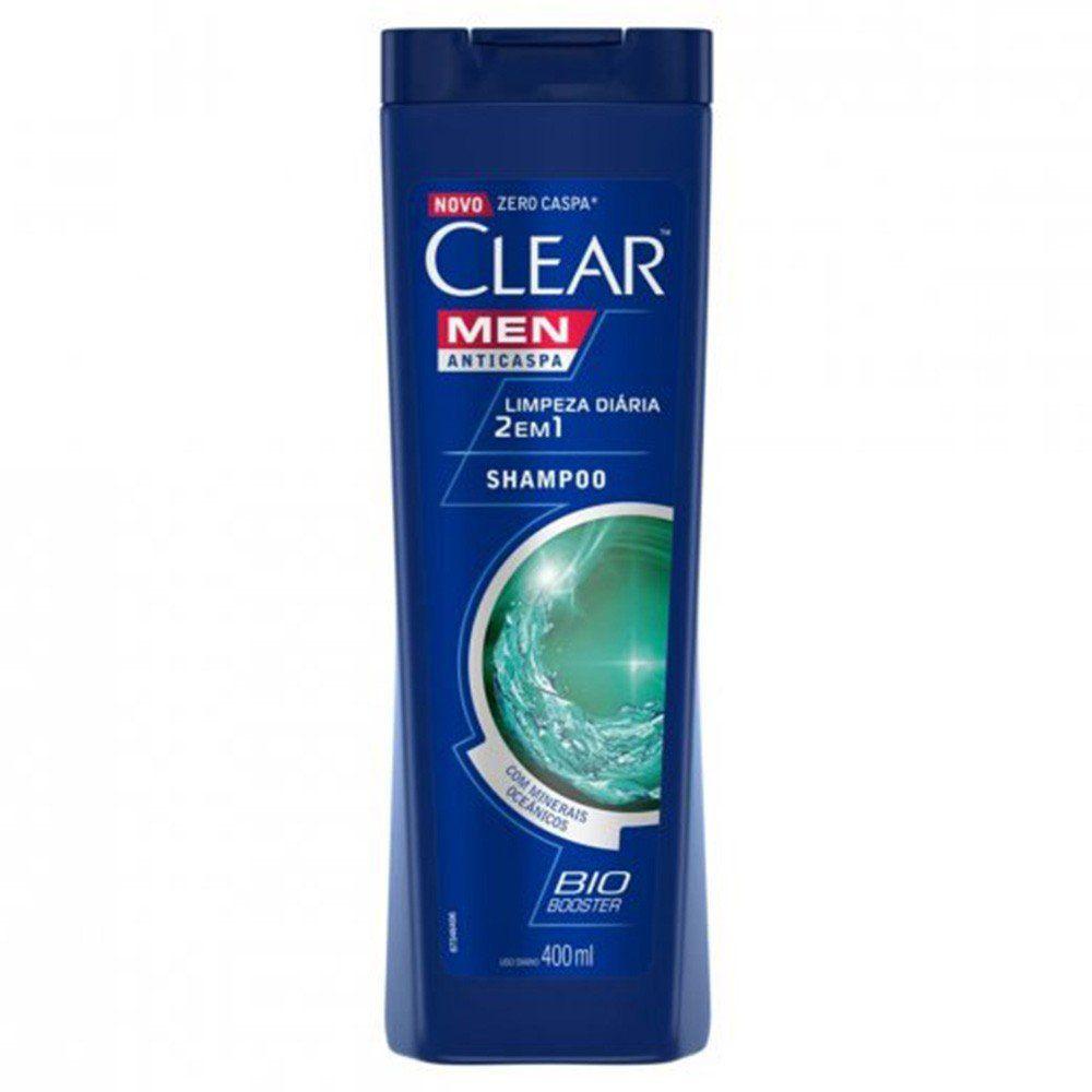 Shampoo Anticaspa Clear IceCool Menthol  400ml