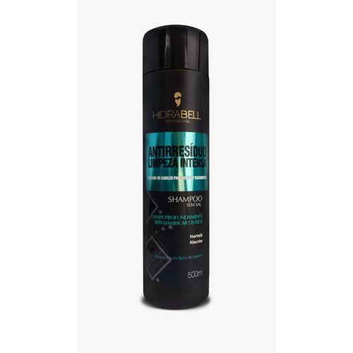 Shampoo Antirresíduo Limpeza Intensa 500ml Hidrabell