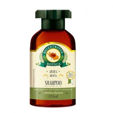 Shampoo Bio Extratus Arnica Menta Botica 270 ml