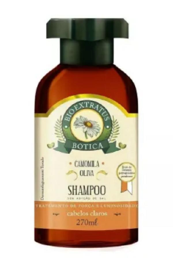 Shampoo Bio Extratus Botica Camomila Brilho Dourado 270ml