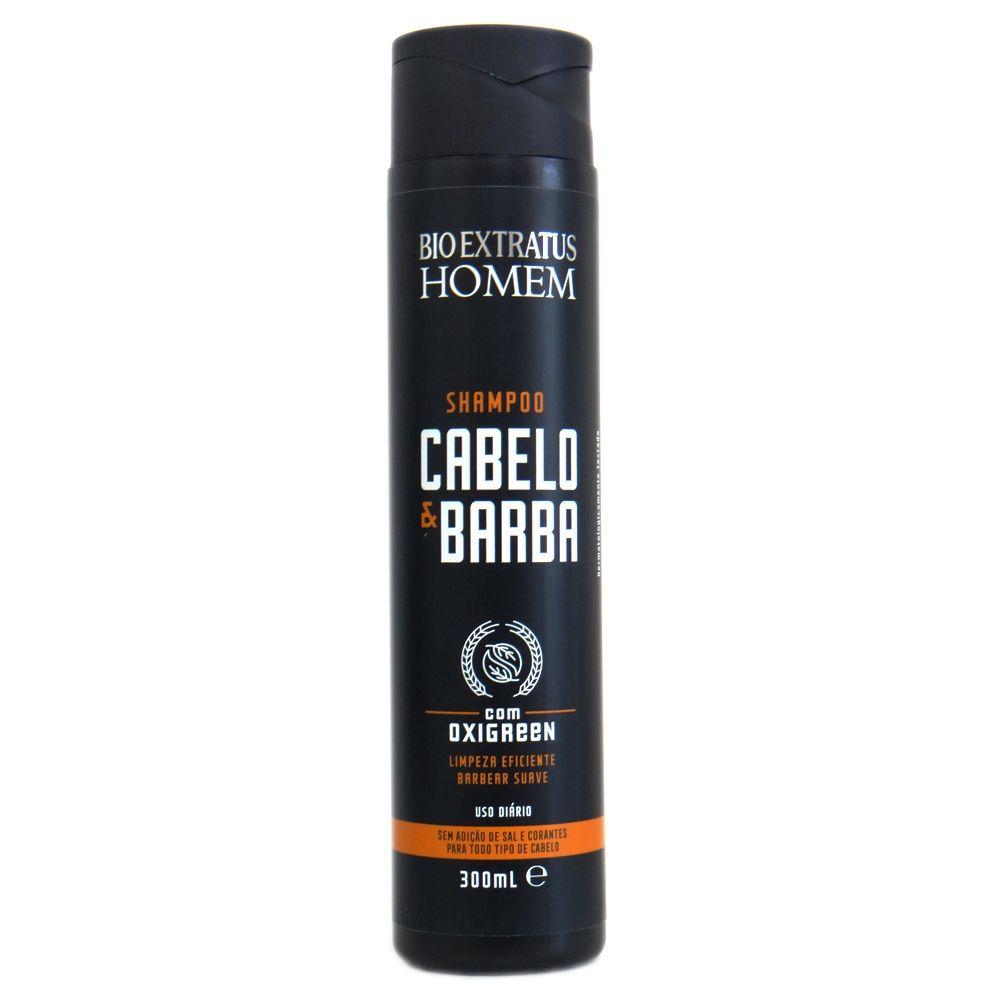 Shampoo Bio Extratus Homem Cabelo & Barba - 300ml