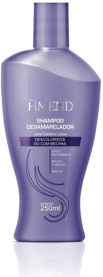 Shampoo Desamarelador Cab Descoloridos Amend 250ml