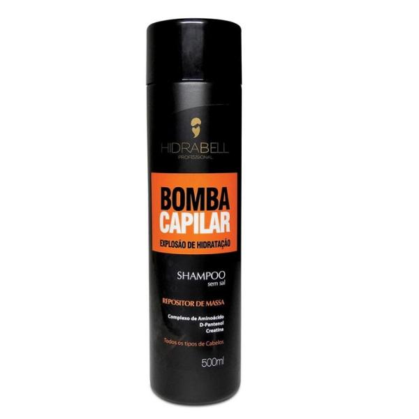 Shampoo Hidrabell Bomba Capilar 500ml