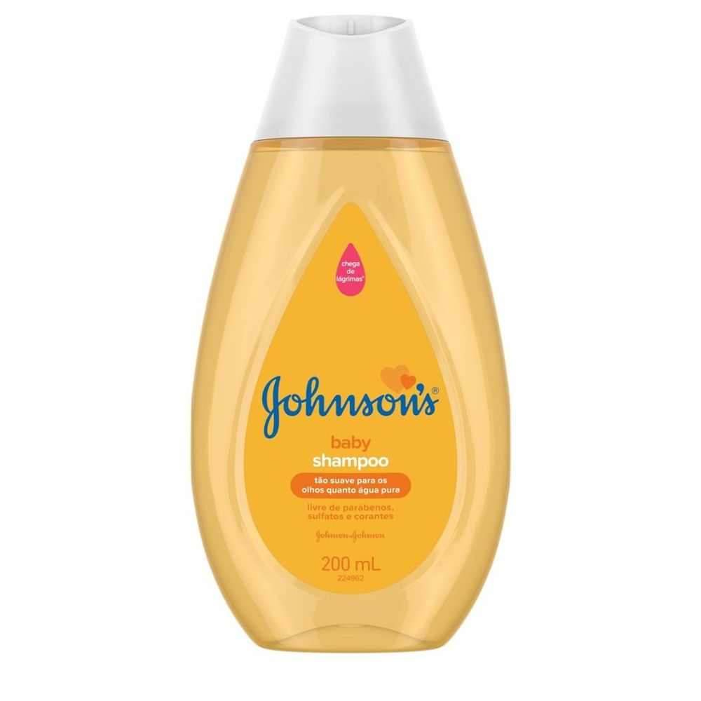 Shampoo Johnson's Regular Baby 200ml