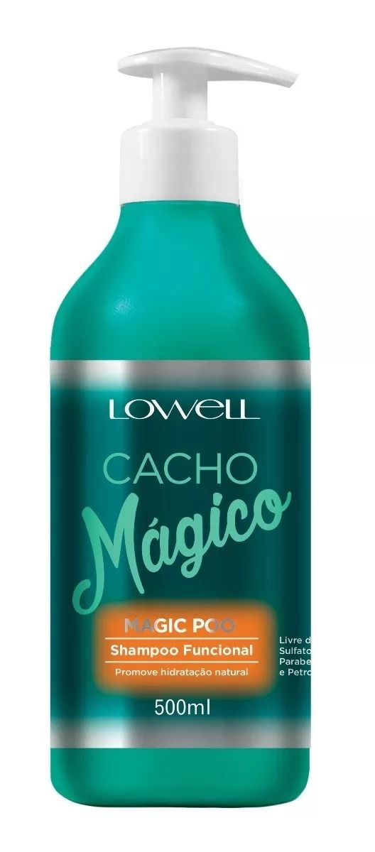 Shampoo Lowell Magic Poo Cacho Mágico 500ml