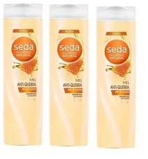 Shampoo Seda Mel Anitquebra 325ml - 3 unidades