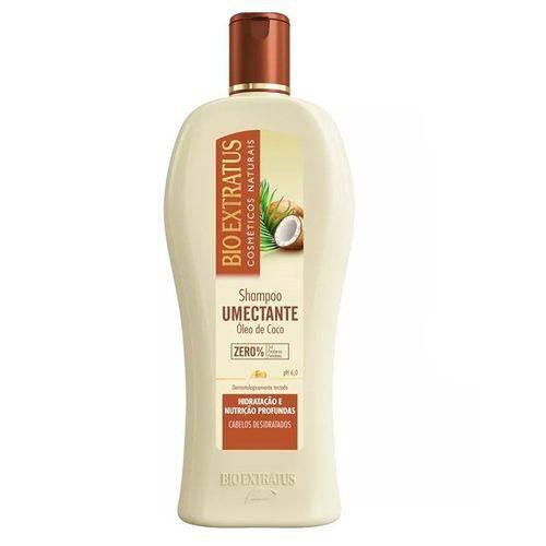 Shampoo Umectante Óleo de Coco Bio Extratus 250ml