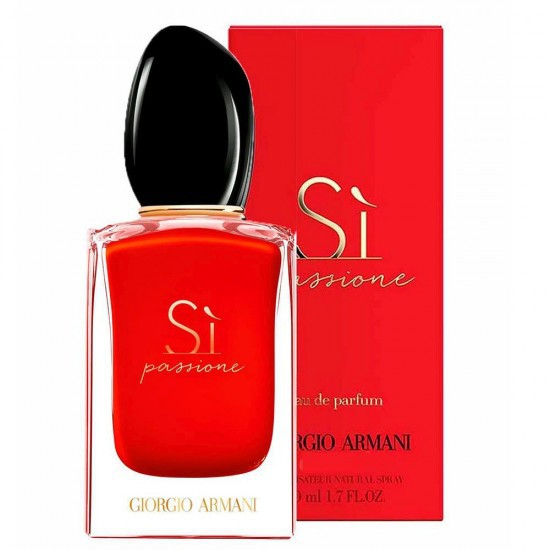 Sì Passione Giorgio Armani 50ml Eau de Parfum - Perfume Feminino