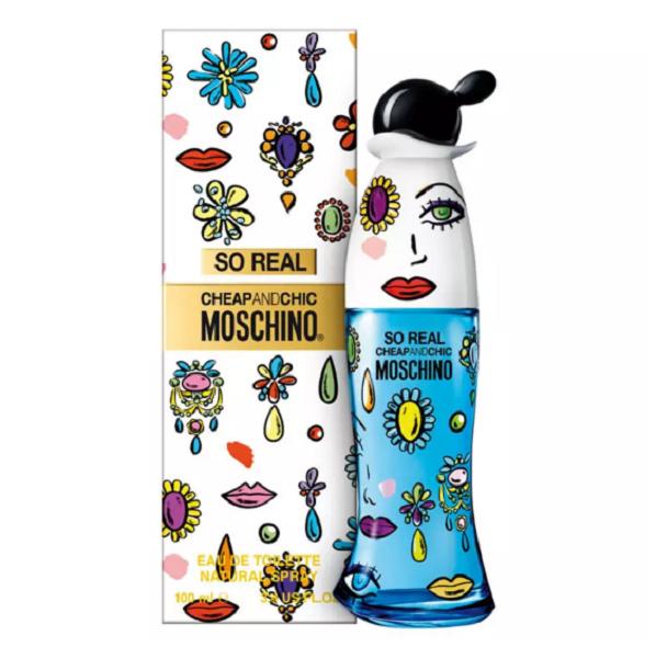 So Real Chic and Cheap Moschino Eau de Toilette Perfume Feminino 50ml