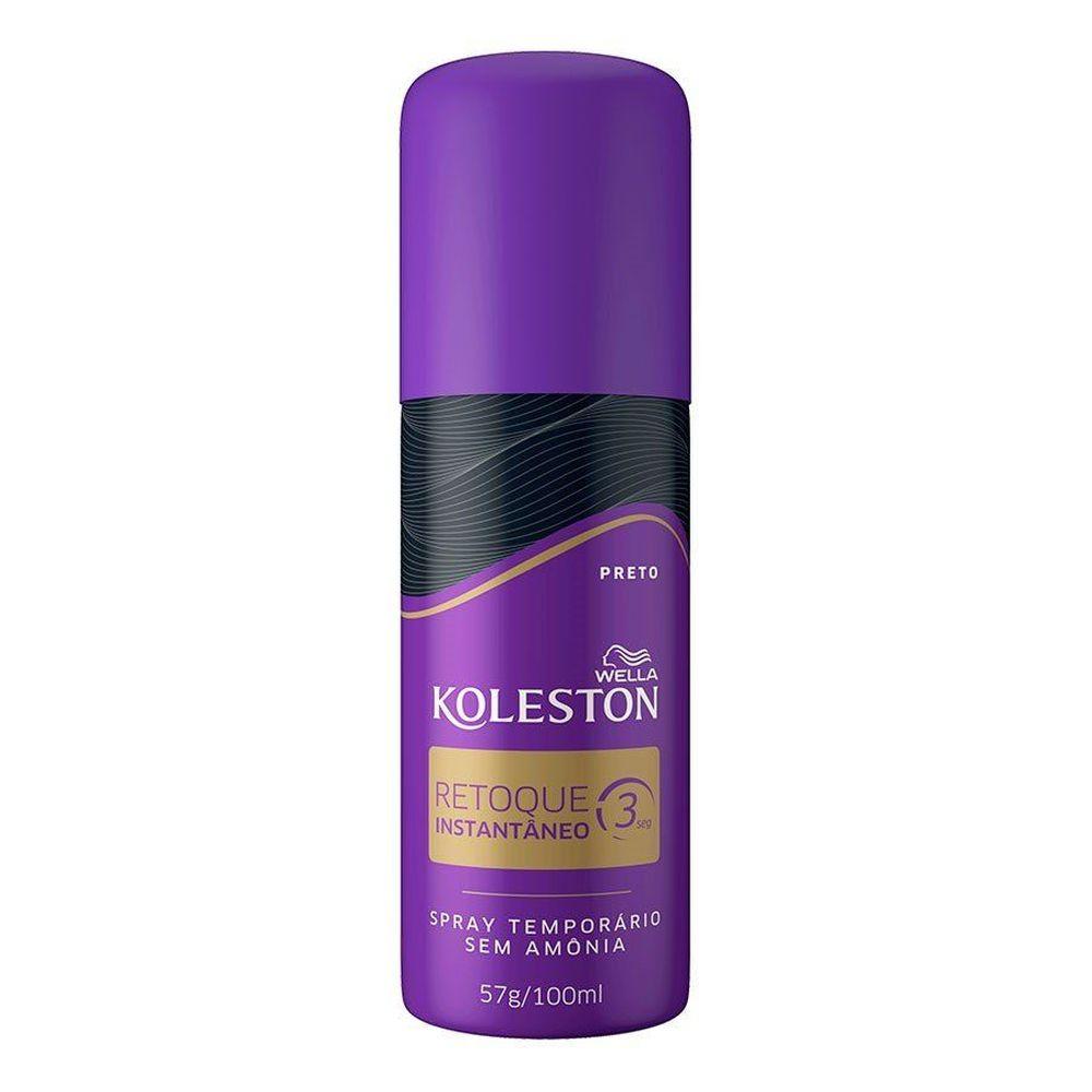 Spray Retoque De Raiz Koleston Preto - 100ml