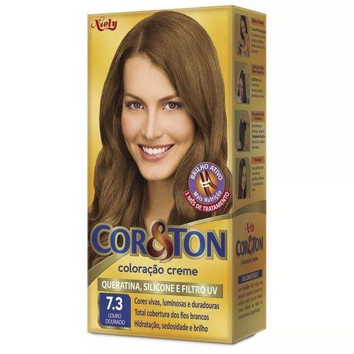 Tintura Cor&ton 73 Louro Dourado