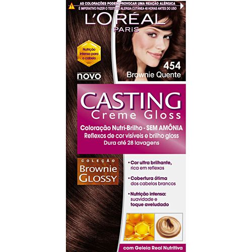 Tonalizante Casting  454 Brownie Quente