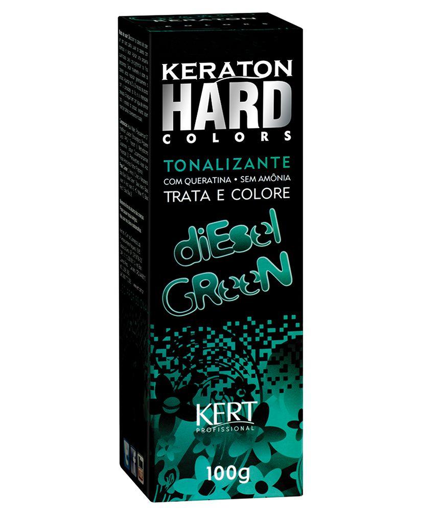 Tonalizante Keraton Hard Colors Diesel Green 100g