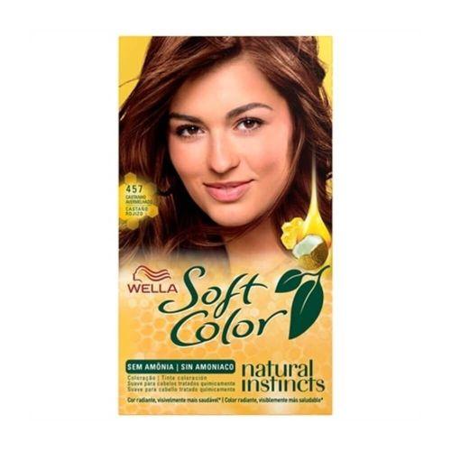 Tonalizante Soft Color 457 Castanho Avermelhado