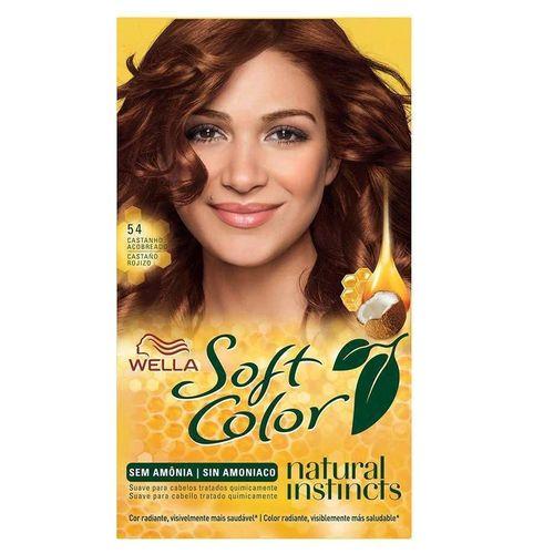 Tonalizante Soft Color 54 Castanho Acobreado