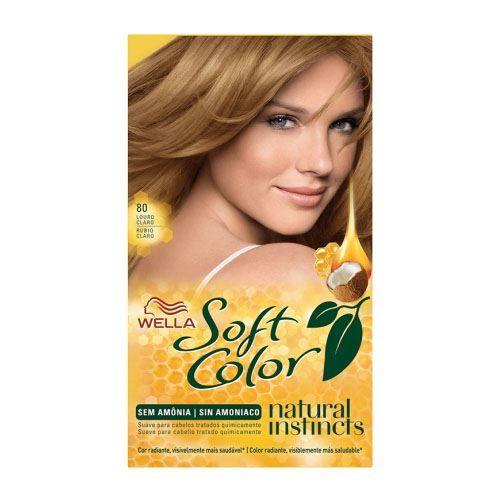 Tonalizante Soft Color 80 Louro Claro