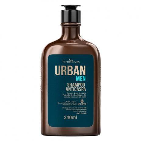 Urban Men IPA - Shampoo Anticaspa Farmaervas