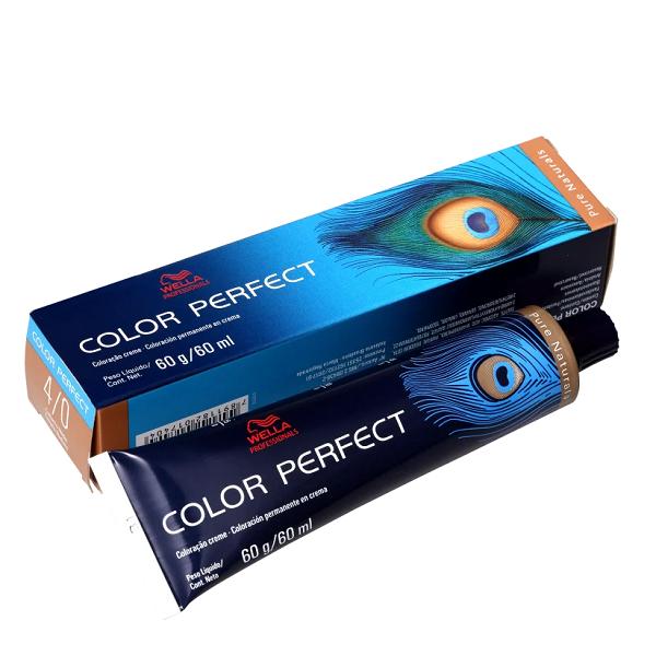 Wella Color Perfect 4.0 Castanho Médio - Coloração Permanente 60g