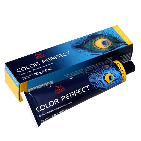 Wella Color Perfect 5.1 Castanho Claro Acinzentado - Coloração Permanente 60g