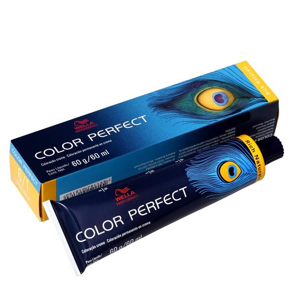 Wella Color Perfect 6.1 Louro Escuro Acinzentado - Coloração Permanente 60g