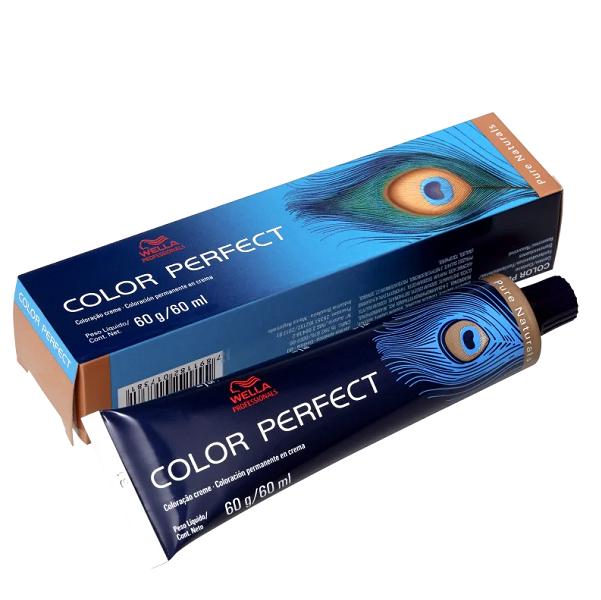 Wella Color Perfect 9.0 Louro Ultraclaro - Coloração Permanente 60g