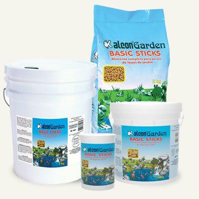 Alcon Garden Basic Sticks 100g  - Aquário Estilos