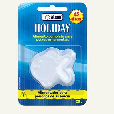 Alcon Holiday 15 dias / 20g  - Aquário Estilos