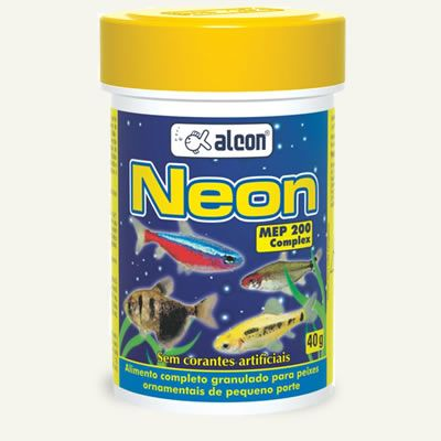 Alcon Neon 10g  - Aquário Estilos