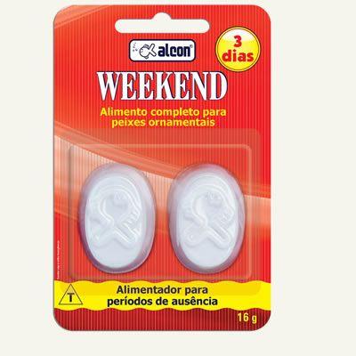 Alcon Weekend 3 dias / 16g  - Aquário Estilos