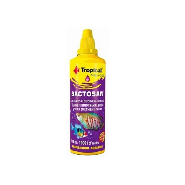 Bactosan Tropical 50mL  - Aquário Estilos