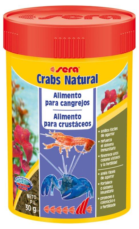 SERA Crabs Natural100 ml  - Aquário Estilos