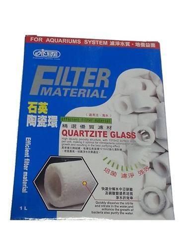 Ista Quartzite Glass Cerâmica 1 Litro - Bio Glass A Granel  - Aquário Estilos
