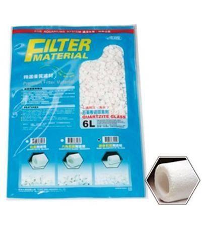 Ista Quartzite Glass Cerâmica 6 Litros - Bio Glass A Granel  - Aquário Estilos