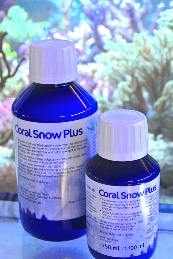 Korallen Zucht Coral Snow Plus 100mL  - Aquário Estilos