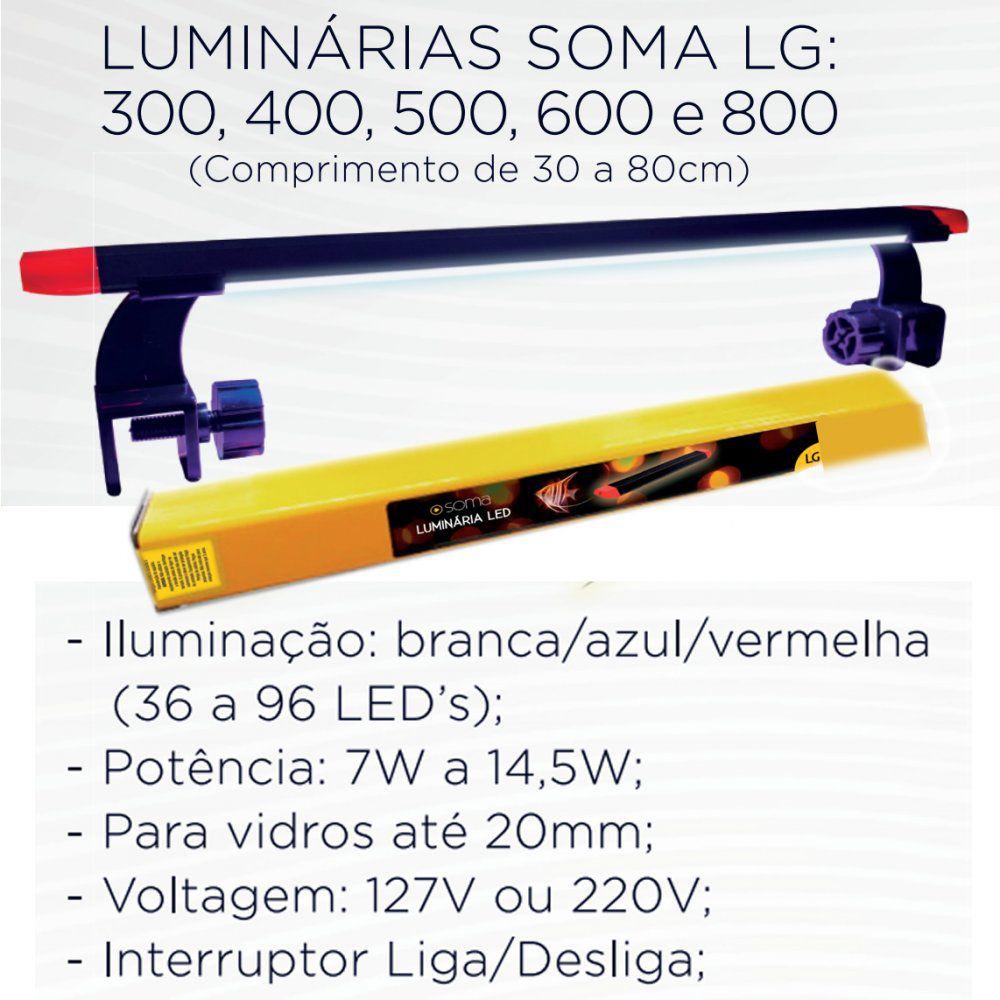 Luminária SOMA LG-300  - Aquário Estilos