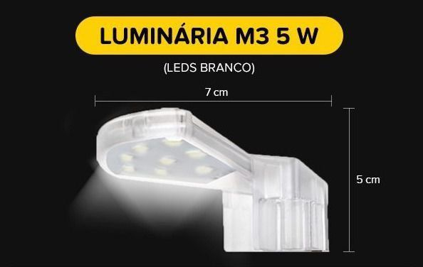 Luminaria SOMA M3  - Aquário Estilos