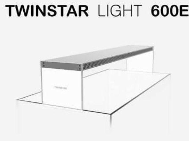 Luminária Twinstar Light 600E  - Aquário Estilos