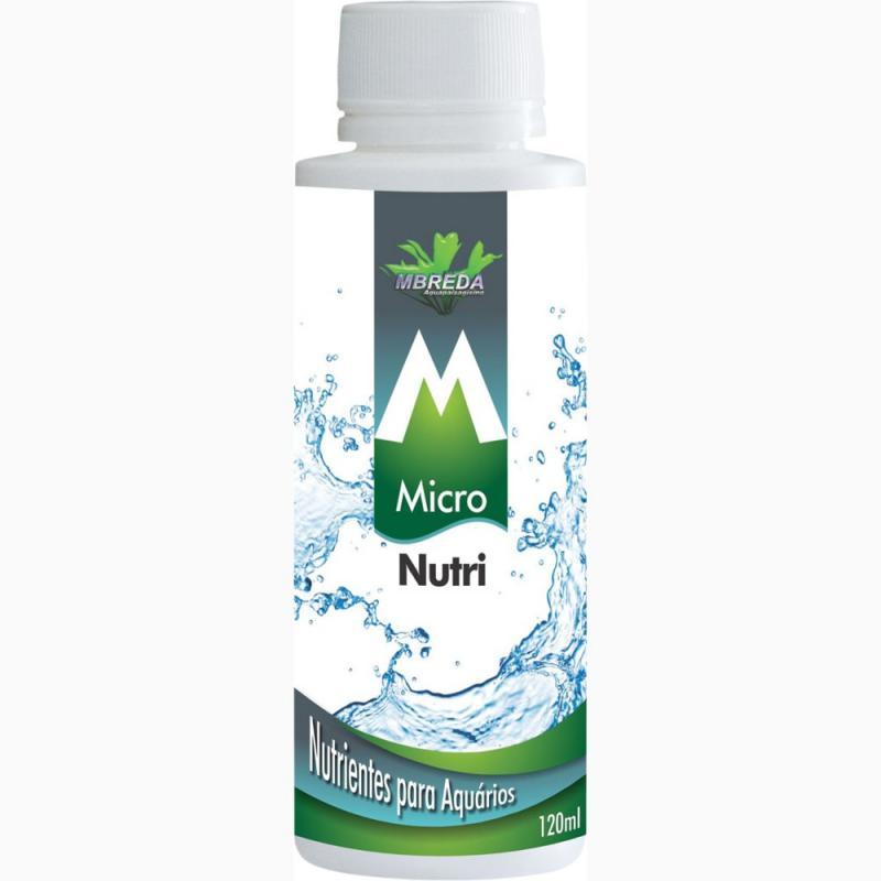 Mbreda Fertilizante Líquido Micronutri 120mL  - Aquário Estilos