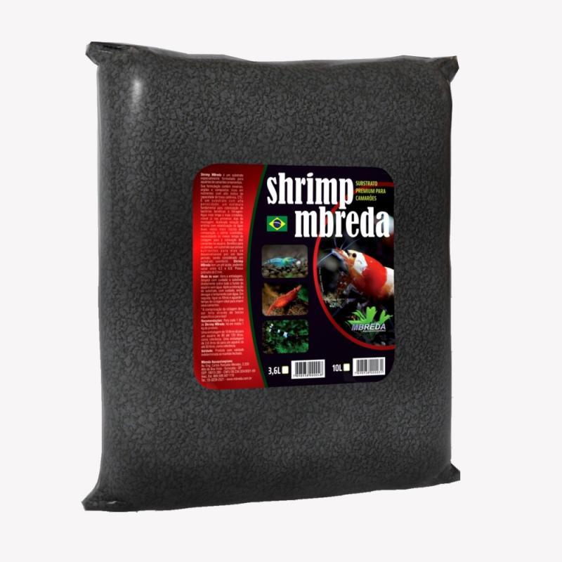 MBreda Substrato Shrimp 10L  - Aquário Estilos