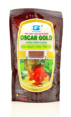 OSCAR GOLD 200G  - Aquário Estilos